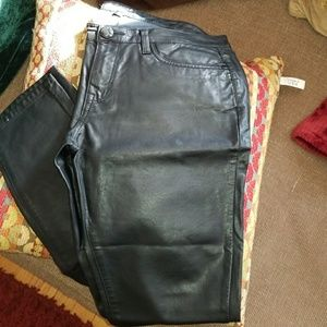 Dollhouse Faux Leather Skinny Jeans
